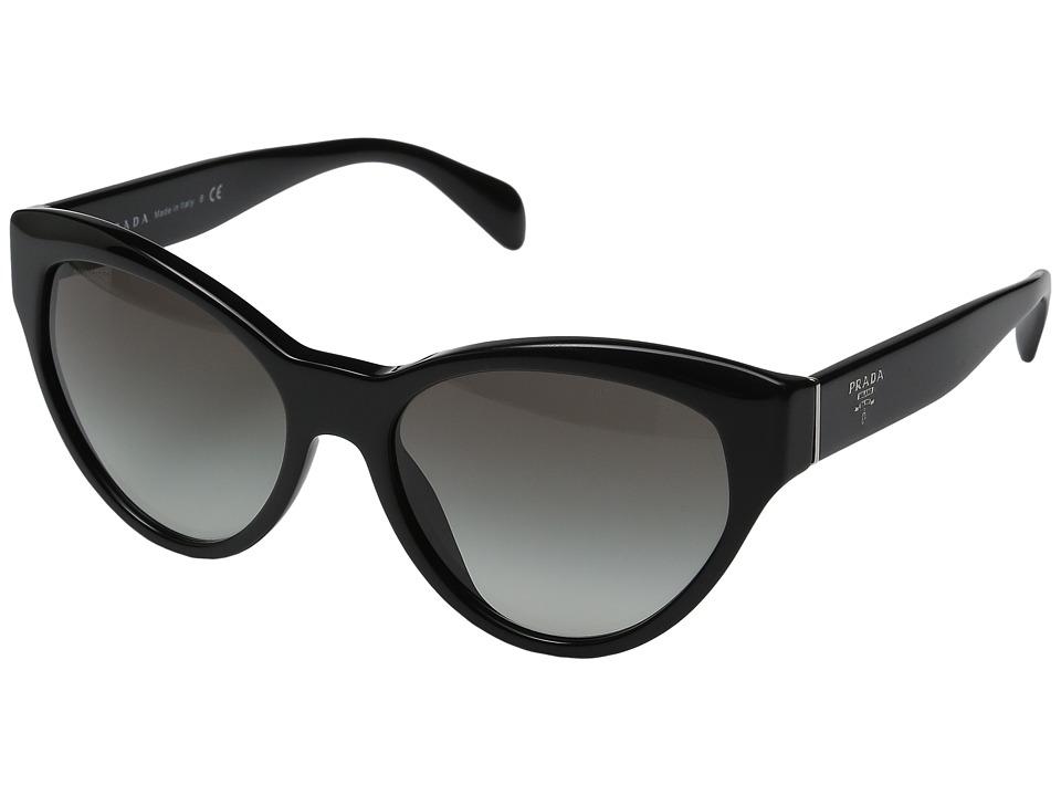 Prada - 0PR 08SS (Black/Grey Gradient) Fashion Sunglasses