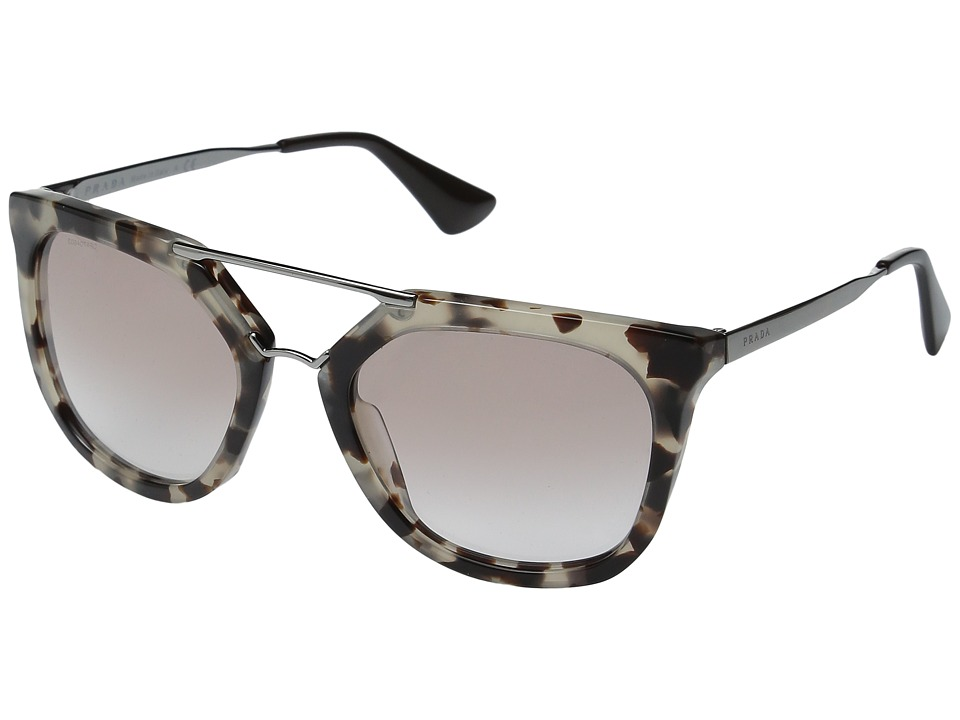 Prada - 0PR 13QS (Brown/Brown Gradient) Fashion Sunglasses