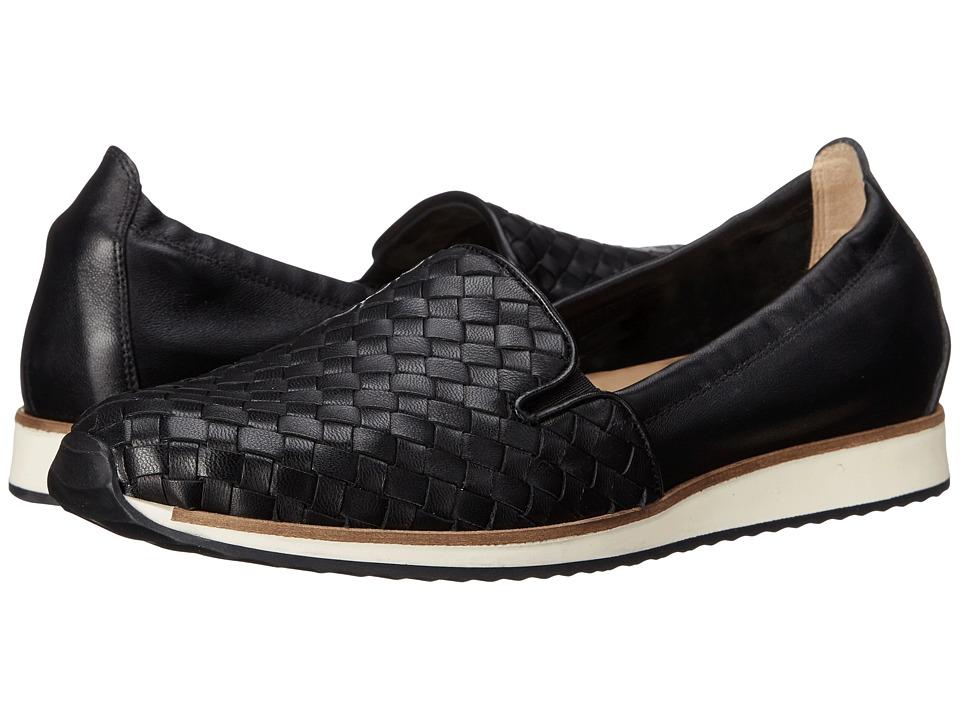 Sesto Meucci - Carmel (Black Nappa) Women's Flat Shoes
