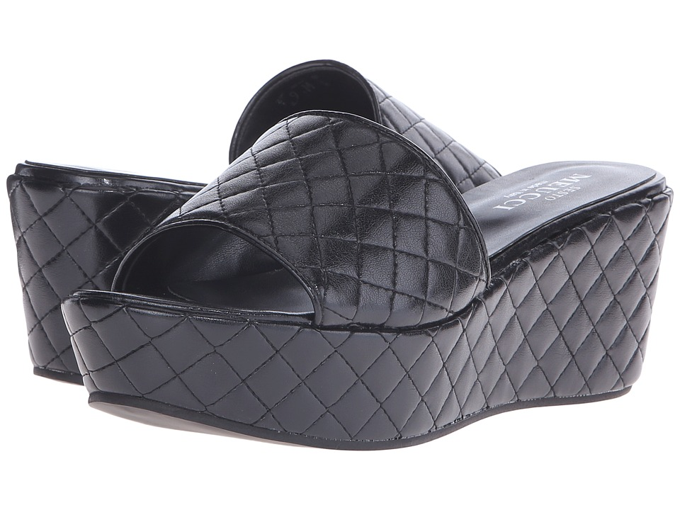 Sesto Meucci - Taffy (Black Nappa) Women's Slide Shoes
