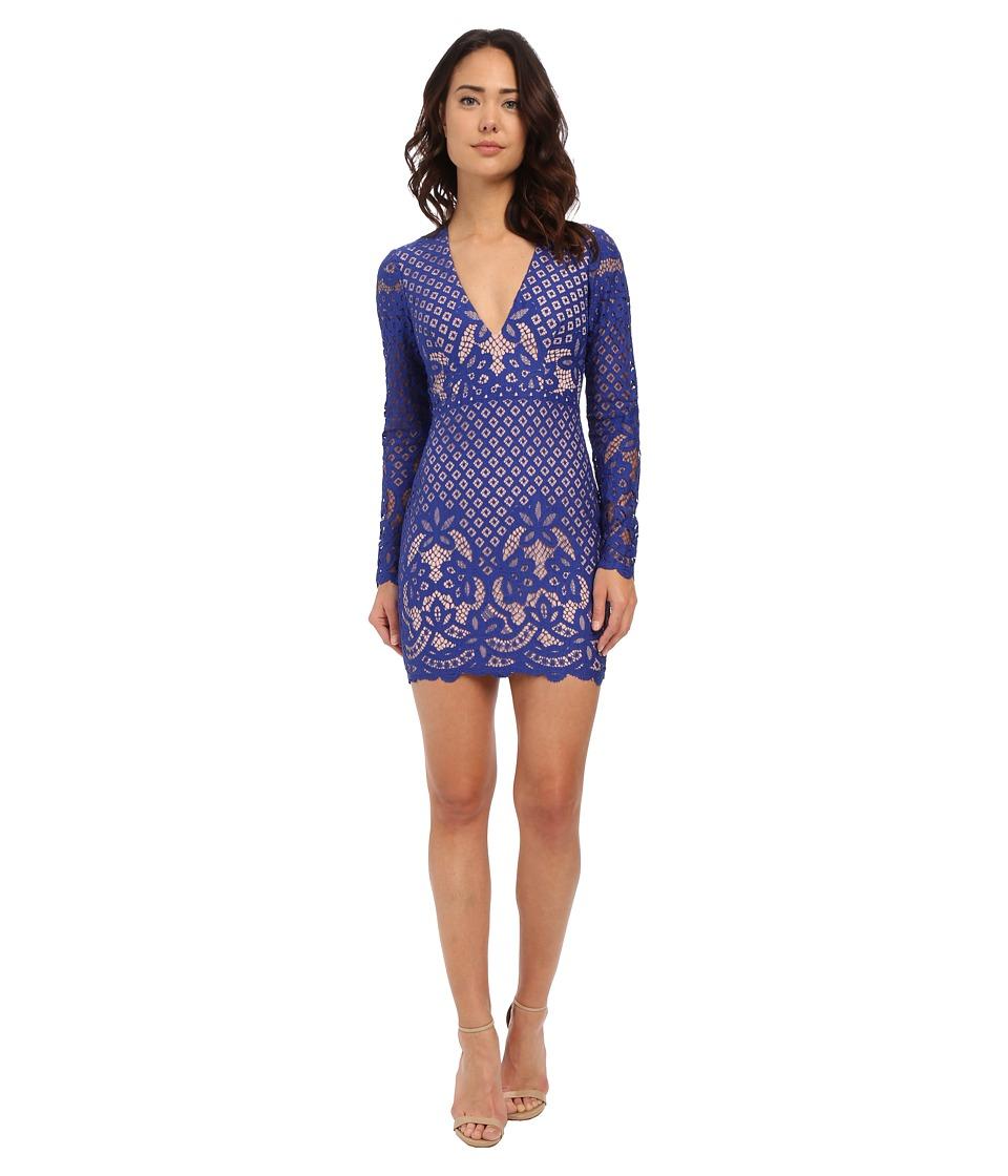StyleStalker - Lani Long Sleeve Dress (Electric) Women's Dress