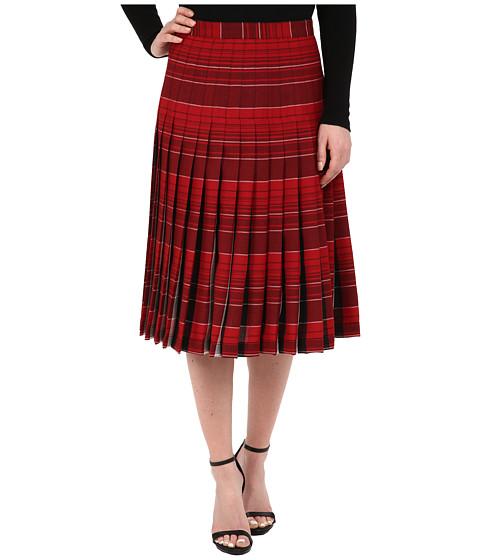 Pendleton - Reversible Skirt (Red Rock/Black Plaid) Women's Skirt