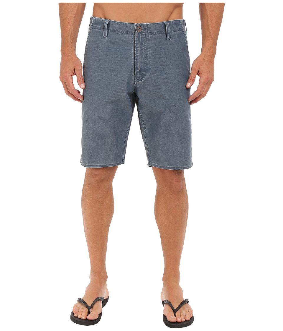 VISSLA - Boneyard Hybrid Walkshorts 20 (Dark Slate) Men's Shorts
