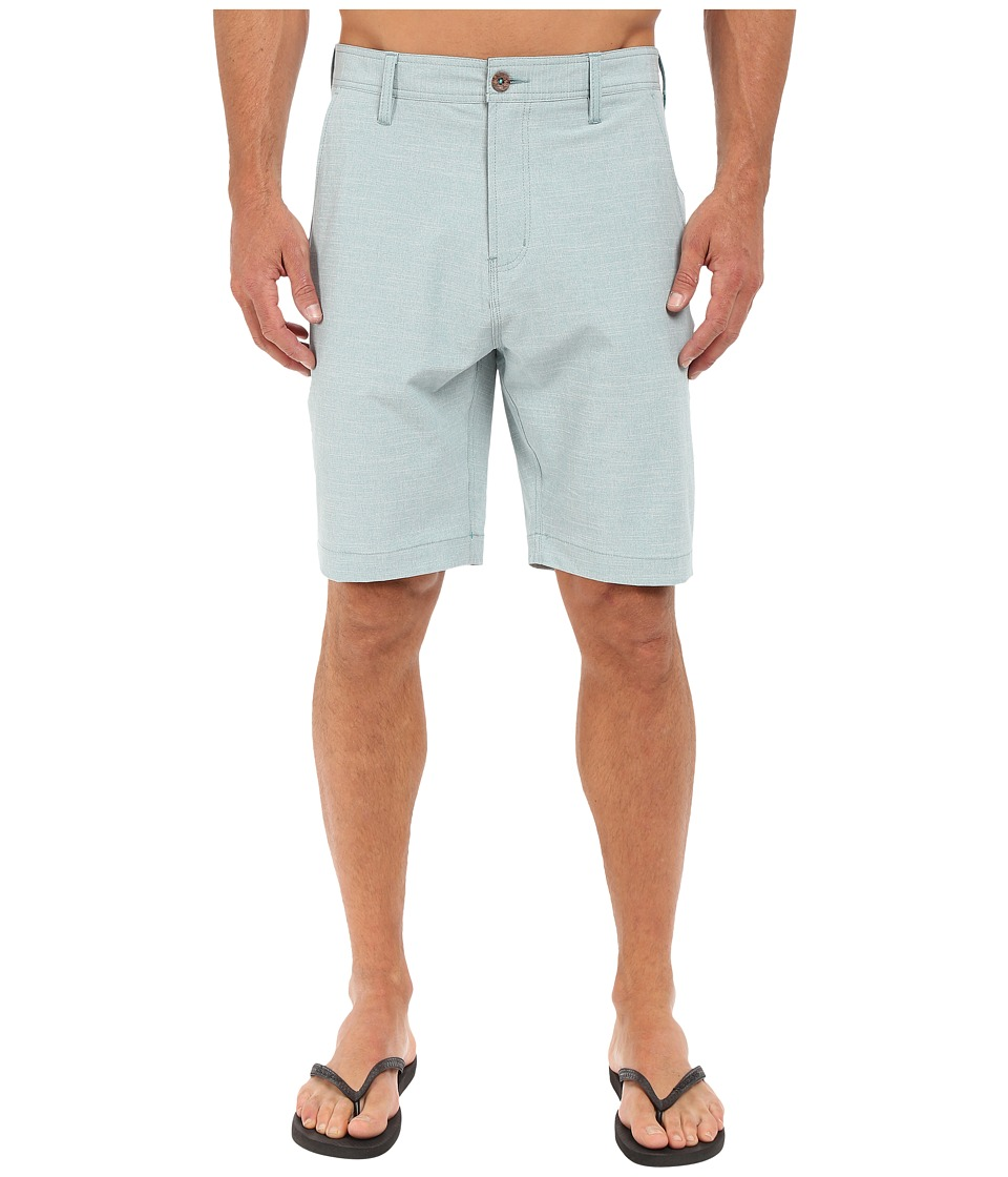 VISSLA - Fin Rope 4-Way Stretch Hybrid Walkshorts 20 (Dark Jade) Men's Shorts