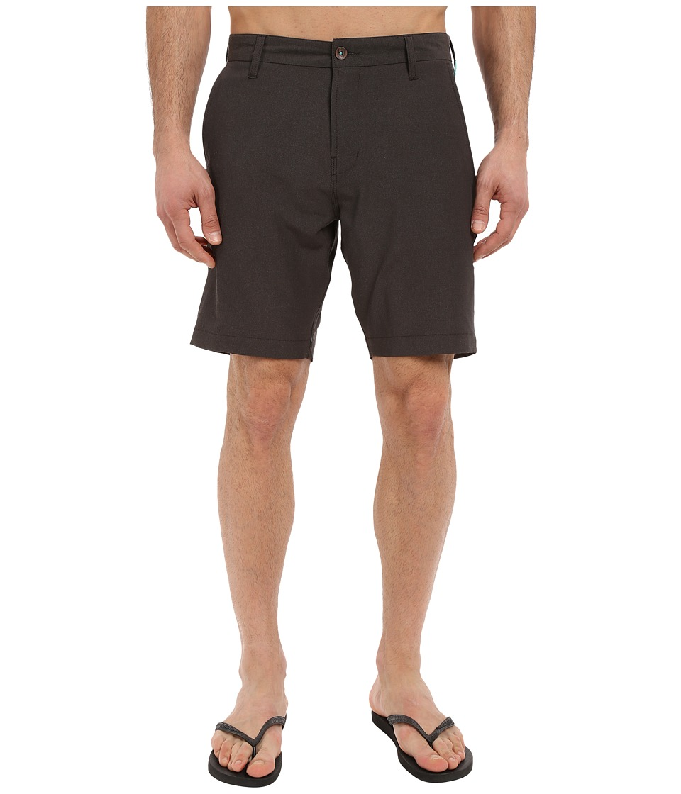 VISSLA - The Ledge 4-Way Stretch Hybrid Walkshorts 19 (Phantom) Men's Shorts