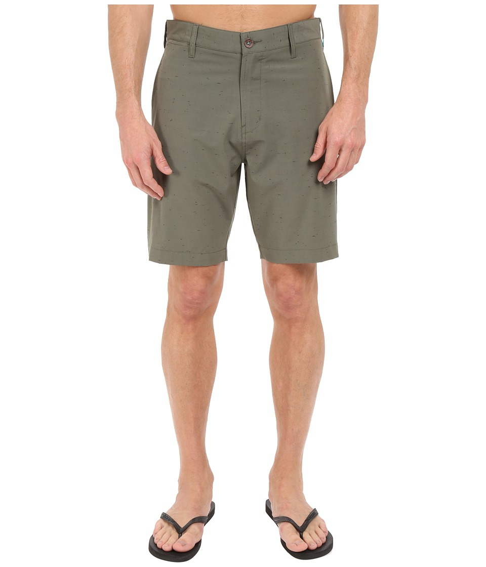 VISSLA - Peer Boom 4-Way Stretch Hybrid Walkshorts 19 (Surplus) Men's Shorts