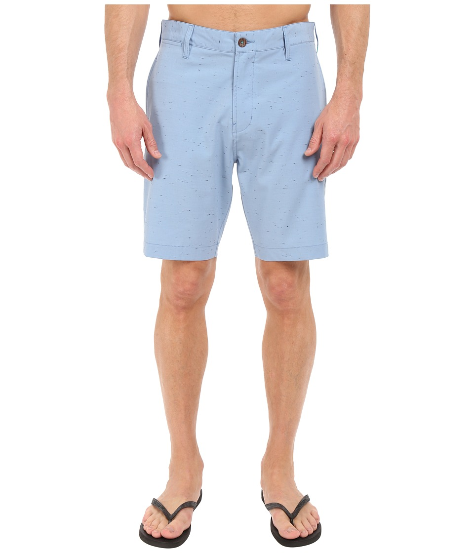 VISSLA - Peer Boom 4-Way Stretch Hybrid Walkshorts 19 (Coastal Blue) Men's Shorts