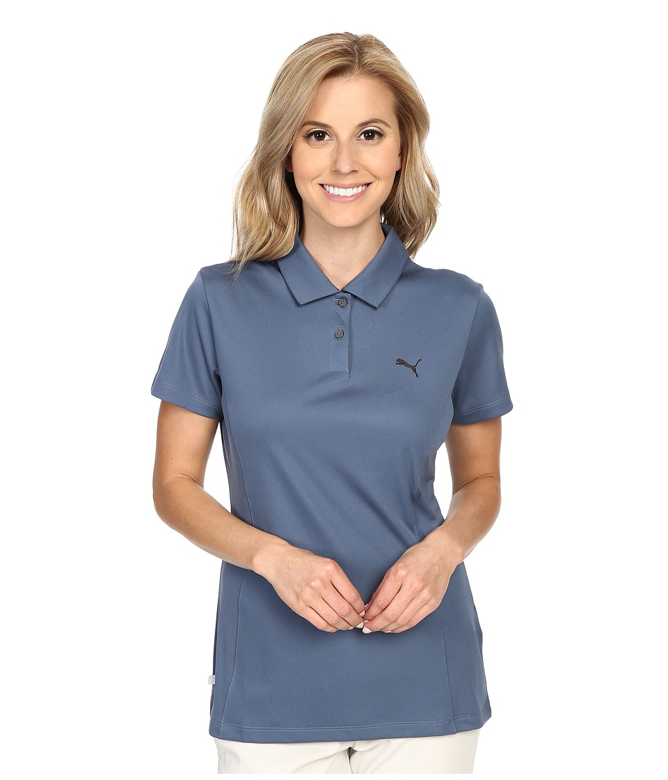 PUMA Golf - Pounce Polo (Bering Sea) Women's Short Sleeve Pullover