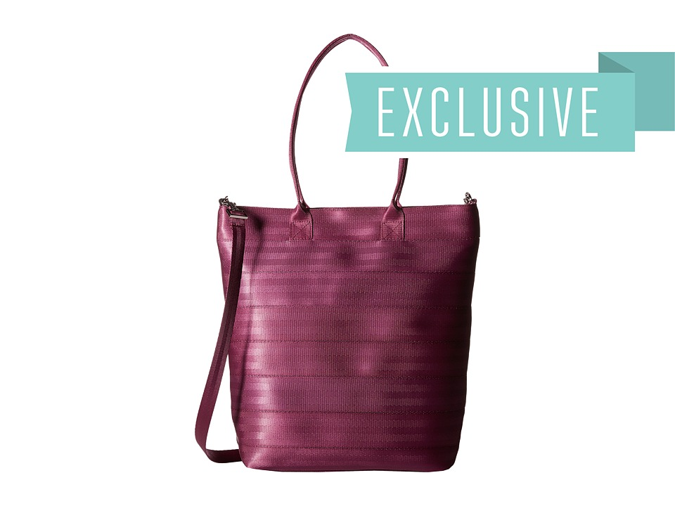 Harveys Seatbelt Bag - Streamline Tote (Plum) Tote Handbags