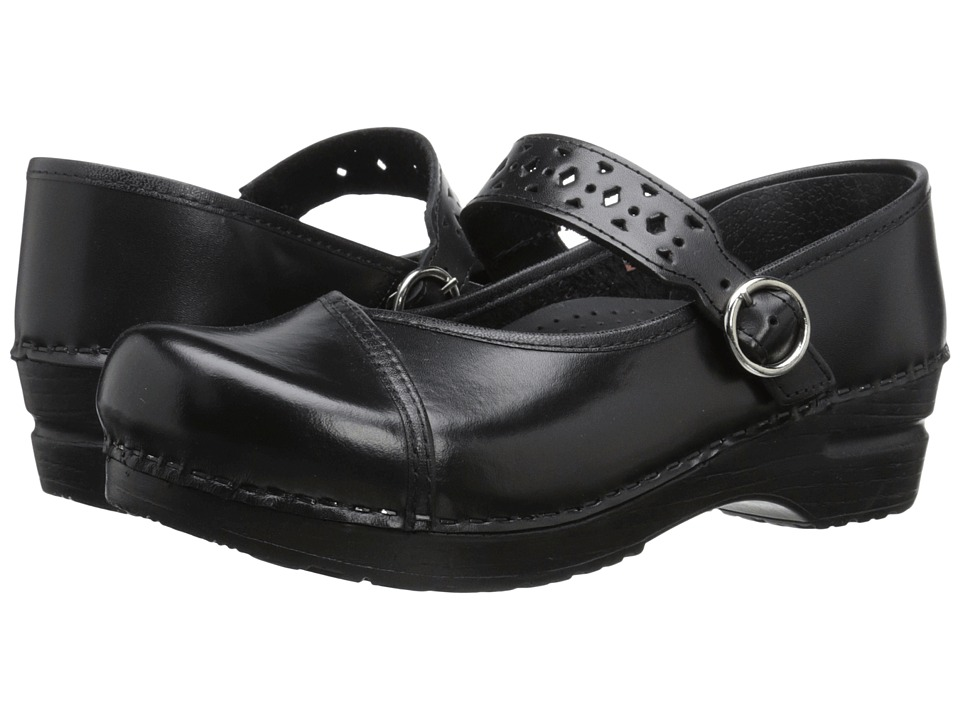 Sanita - Alyssa (Black) Women's Shoes