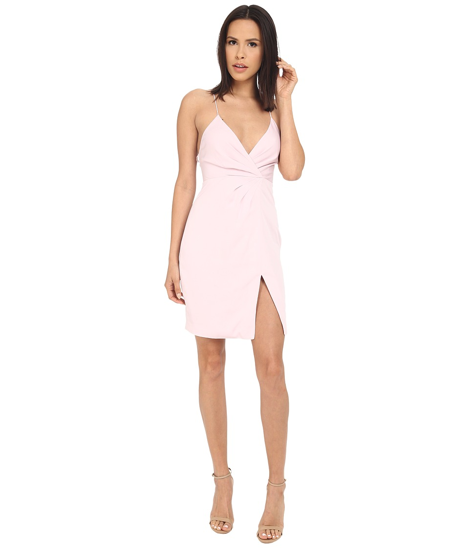 StyleStalker - Priscilla Wrap Dress (Pink Motel) Women's Dress