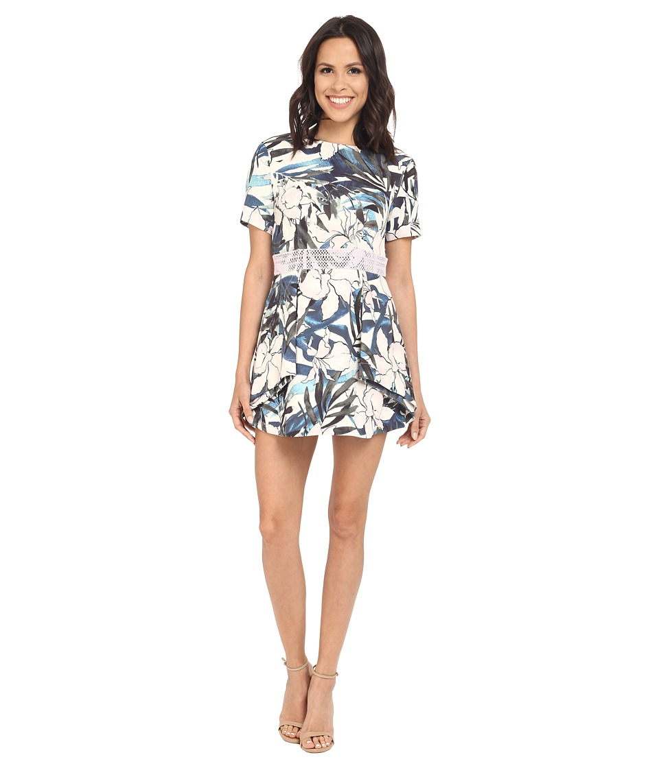 StyleStalker Hawaiian Sunsetian Sunset Aline Dress (Hawaiian Sunset) Women