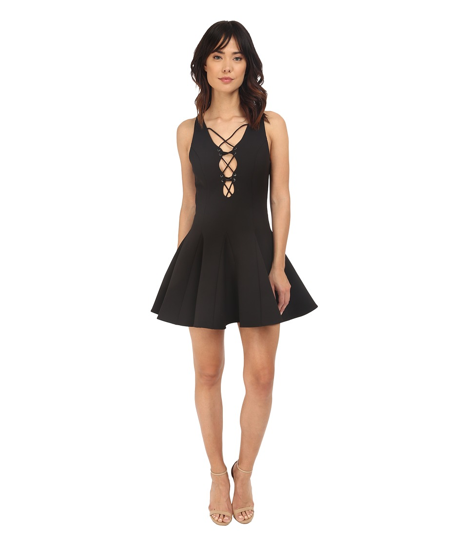 StyleStalker - Solitaire Dress (Noir) Women's Dress