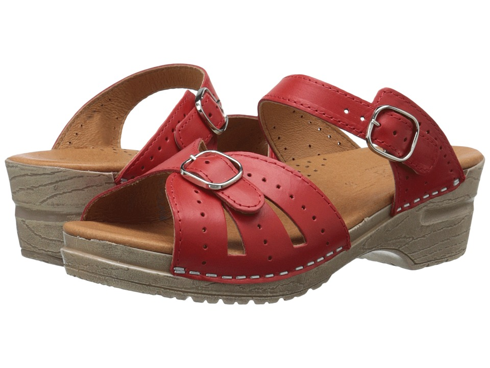 Sanita - Joplin (Red) Women's Shoes