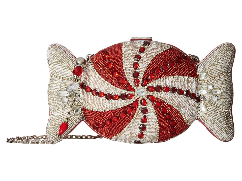 Mary Frances - Peppermint Candy (Red/White) Handbags