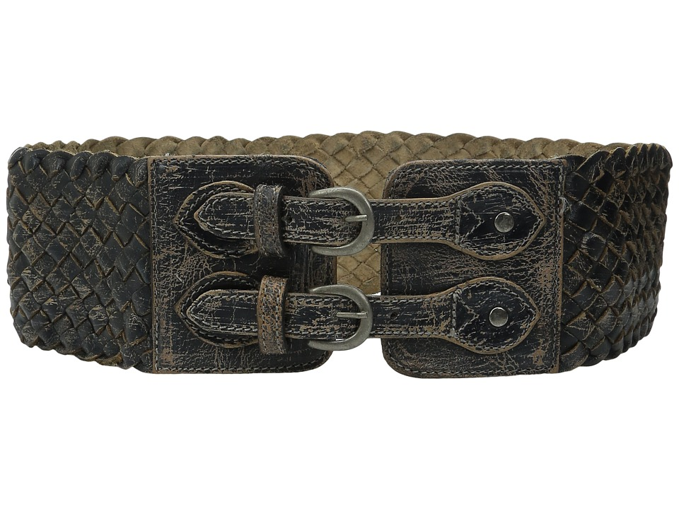 Bed Stu - Quirk (Black Lux) Women's Belts