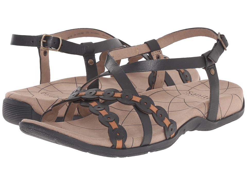 Sanita - Carlie (Black/Tan) Women's Shoes
