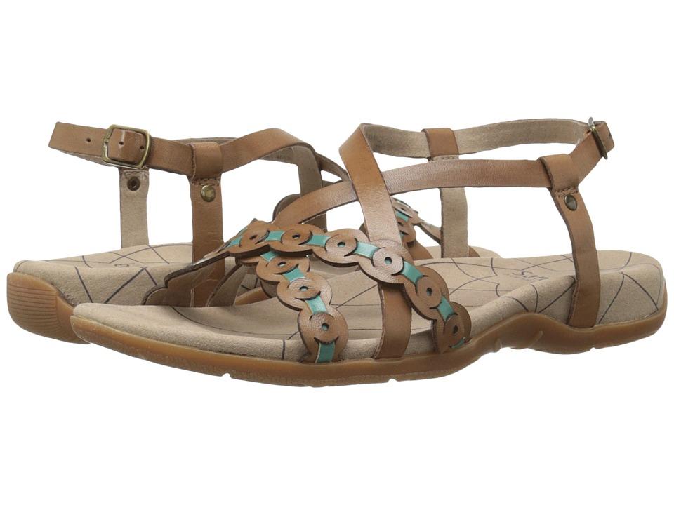 Sanita - Carlie (Brown/Teal) Women's Shoes