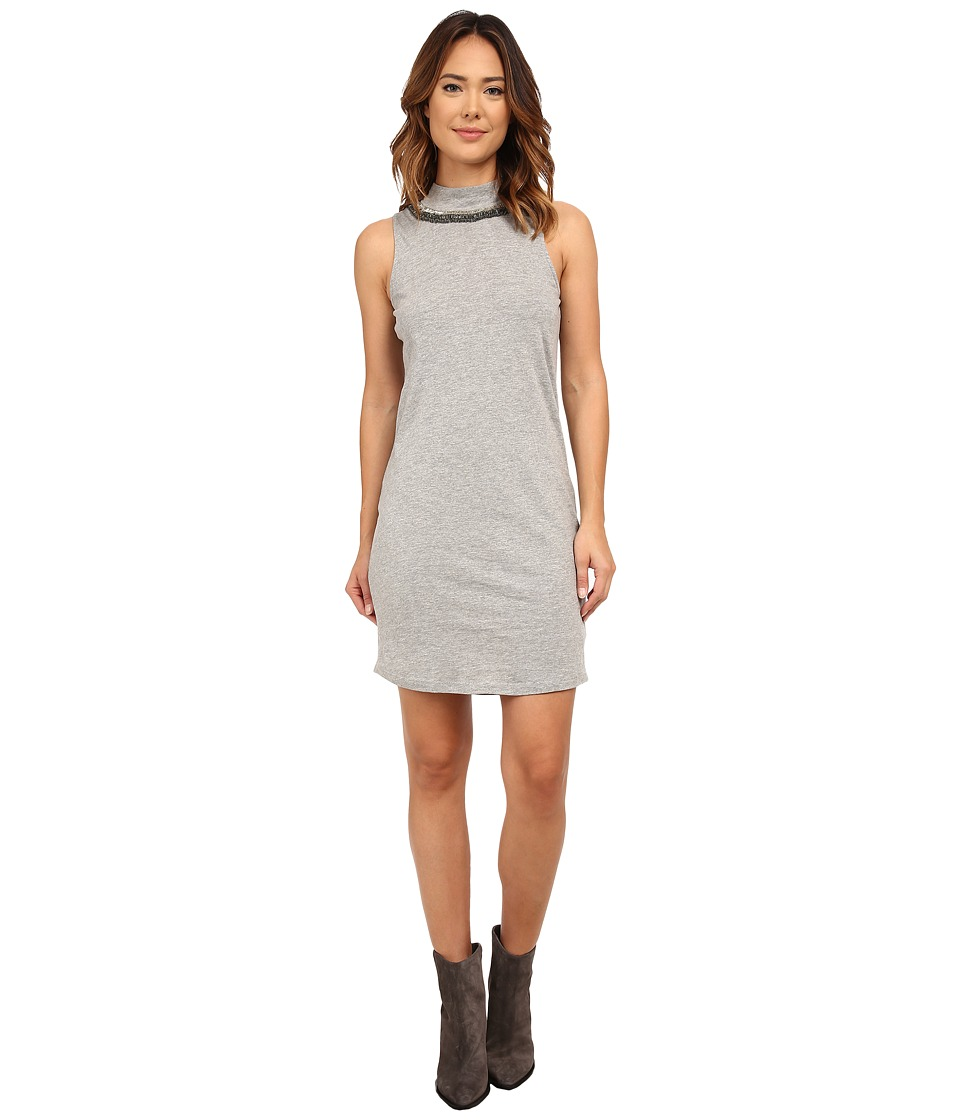 Three Dots - Morgan Dress (Granite) Women's Dress