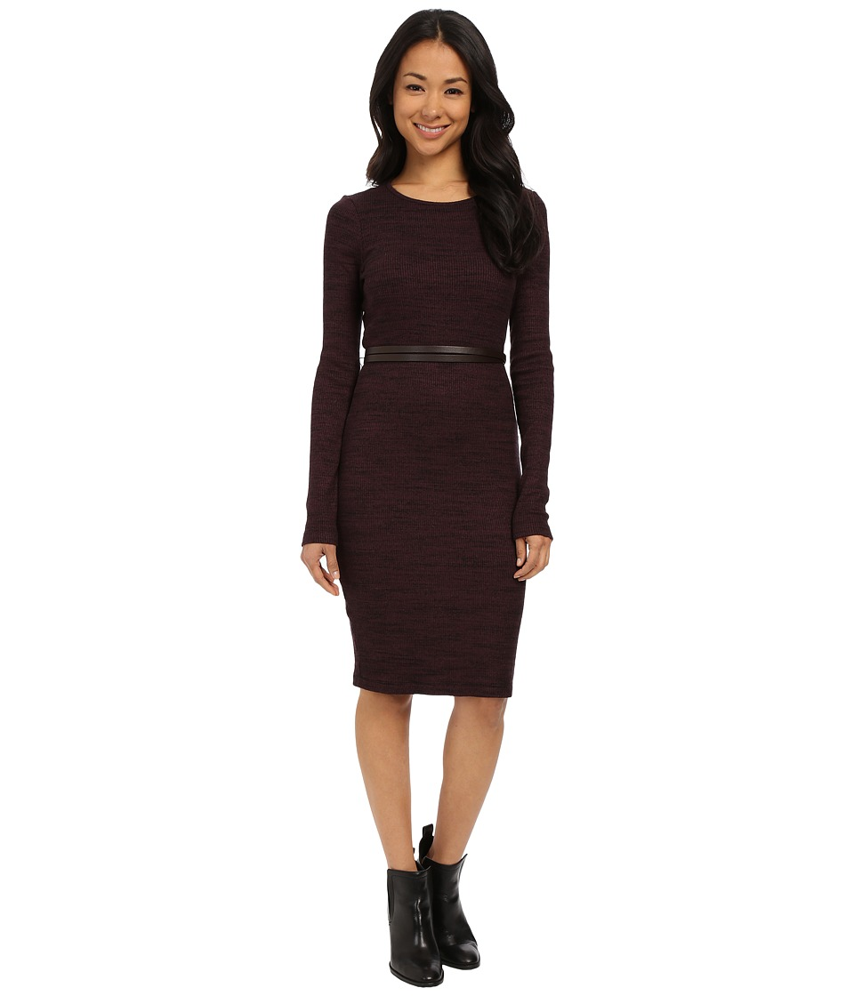 Three Dots Jennifer Dress (Vintage Wine) Women