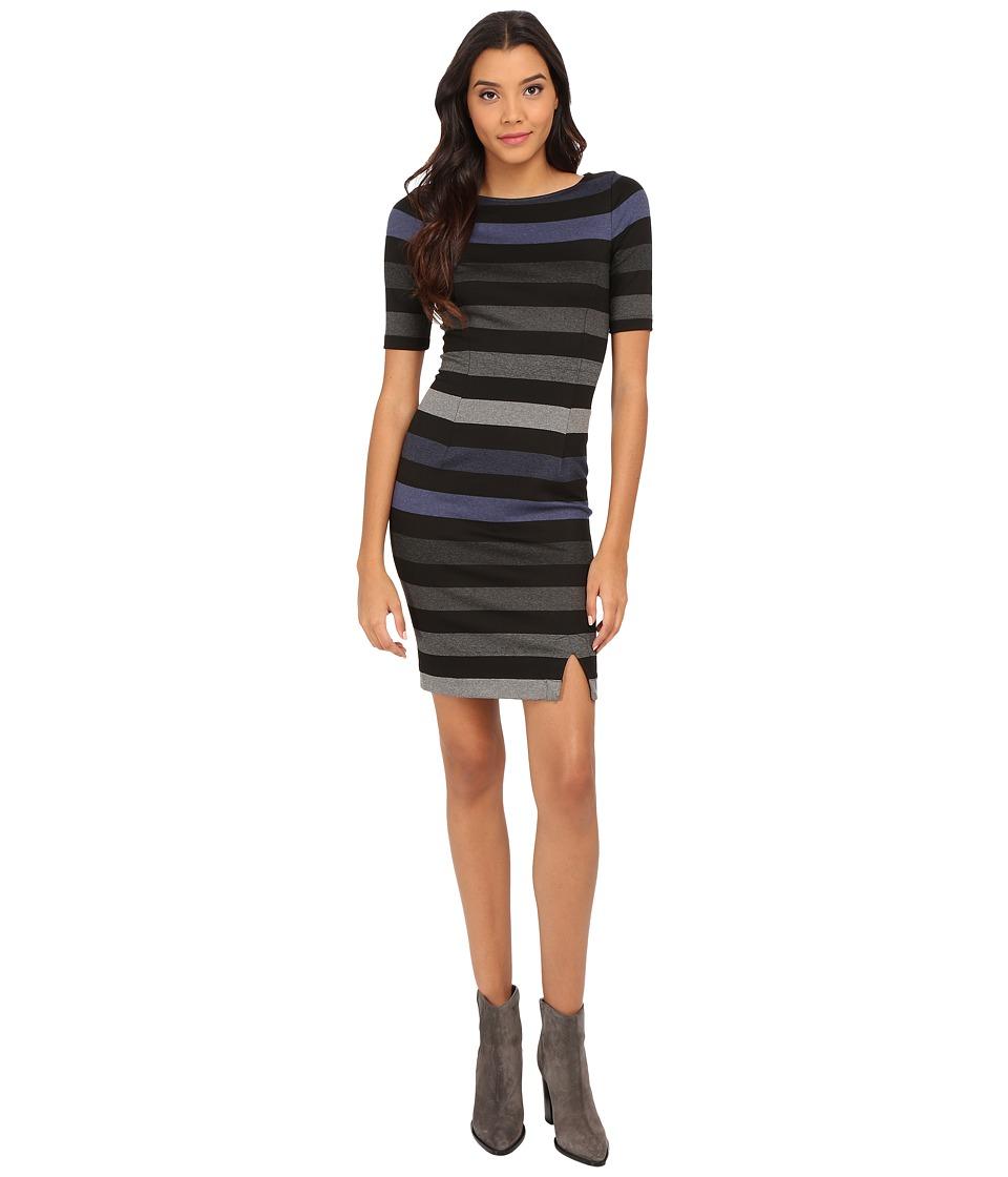 Three Dots - Aviva Dress (Black Combo) Women's Dress