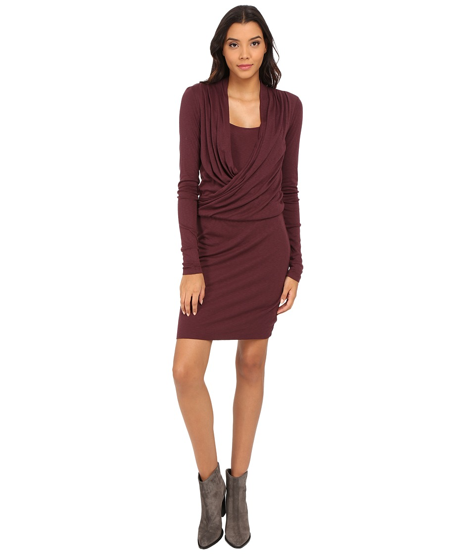 Three Dots - Abigail Dress (Vintage Wine) Women's Dress