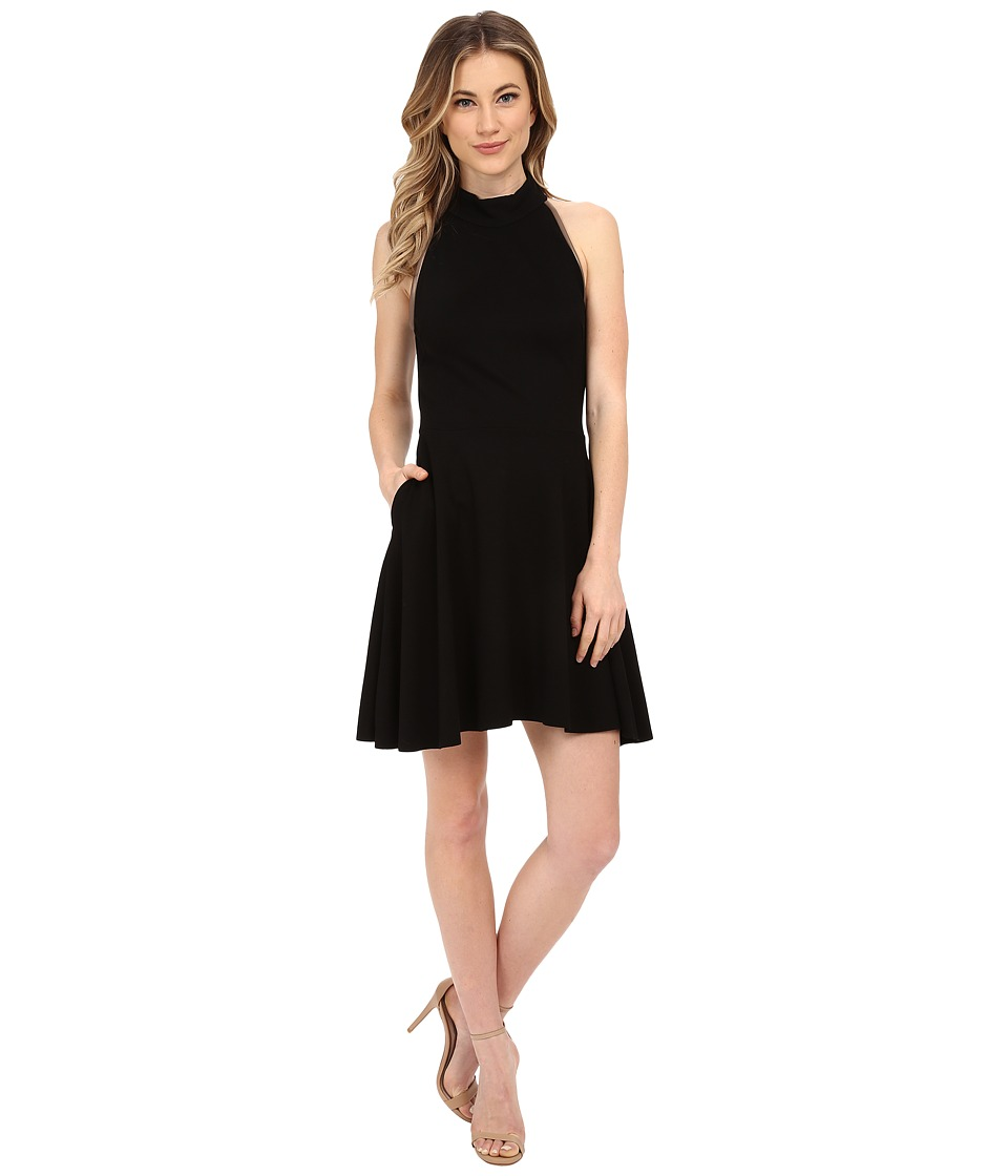 Three Dots - Olivia Dress (Black) Women's Dress