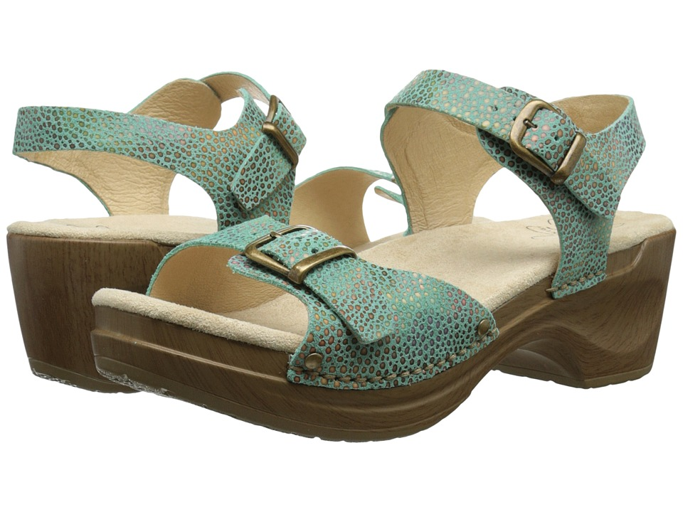 Sanita - Deena (Turquoise) Women's Shoes