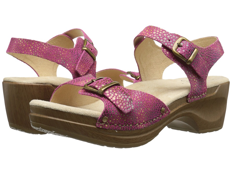 Sanita - Deena (Fuchsia) Women's Shoes
