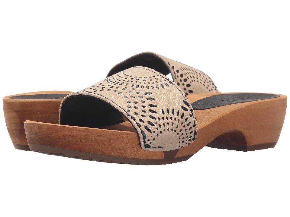 Sanita - Dine Round Flex Sandal (Beige) Women's Sandals