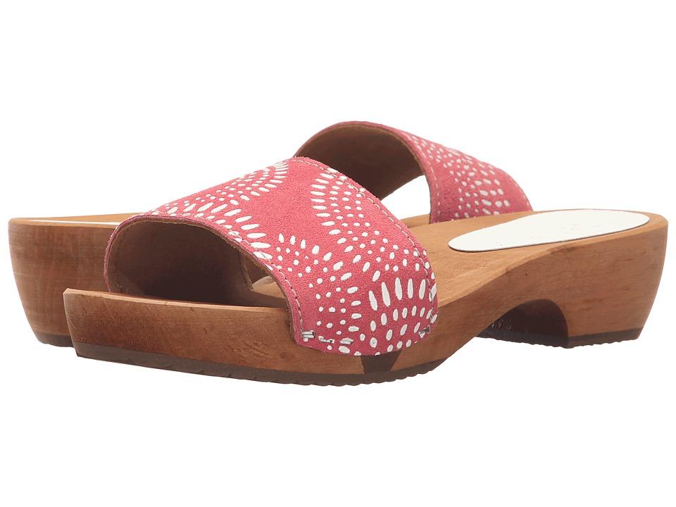 Sanita Dine Round Flex Sandal (Coral) Women