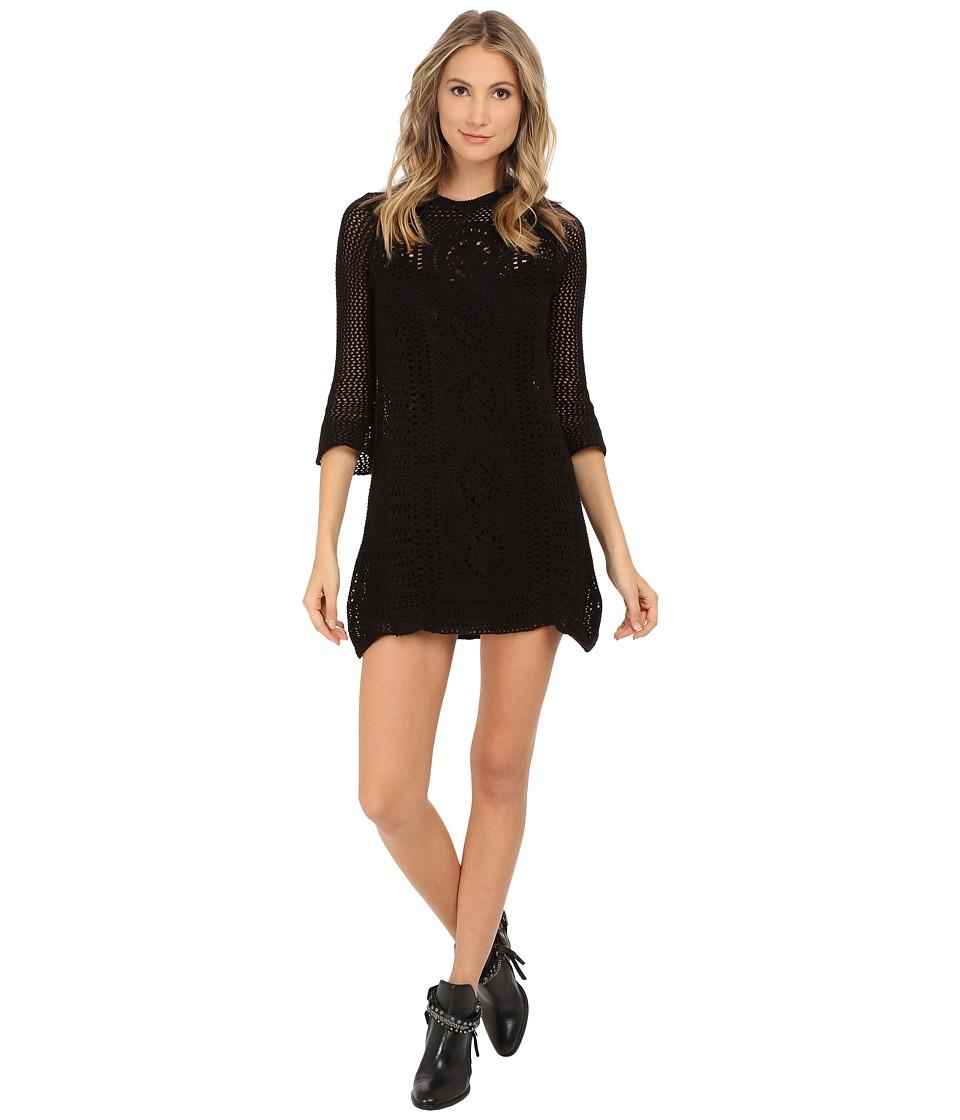 Free People - Rosalind Swit Dress (Black) Women's Dress