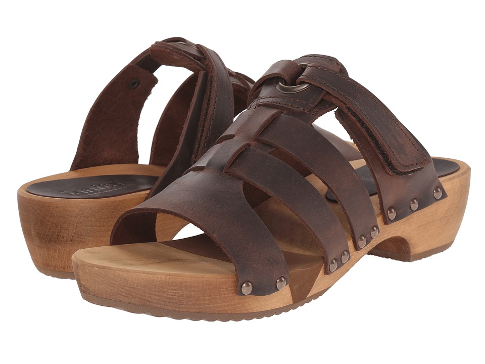 Sanita - Fatu Round Flex Sandal (Antique Brown) Women's Sandals