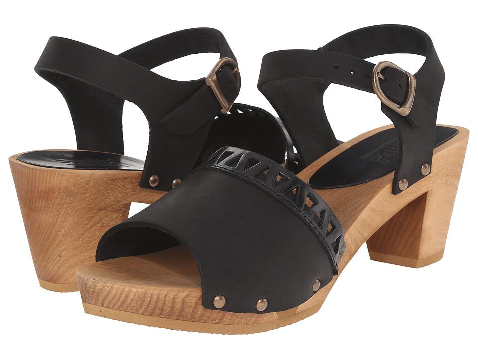 Sanita - Fryd Square Flex Sandal (Black) Women's Sandals