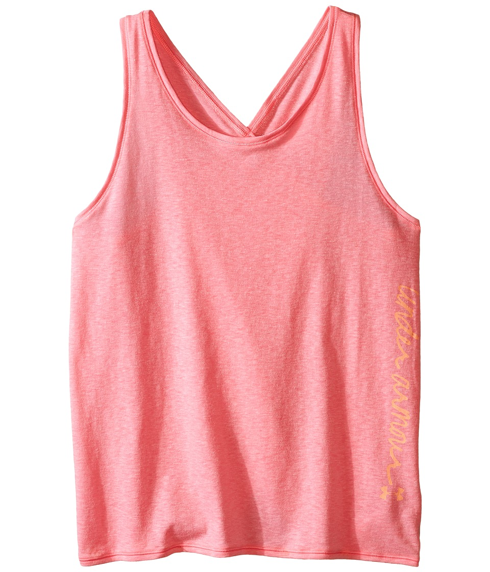 Under Armour Kids - Finale Tank Top (Big Kids) (Harmony Red/Harmony Red) Girl's Sleeveless