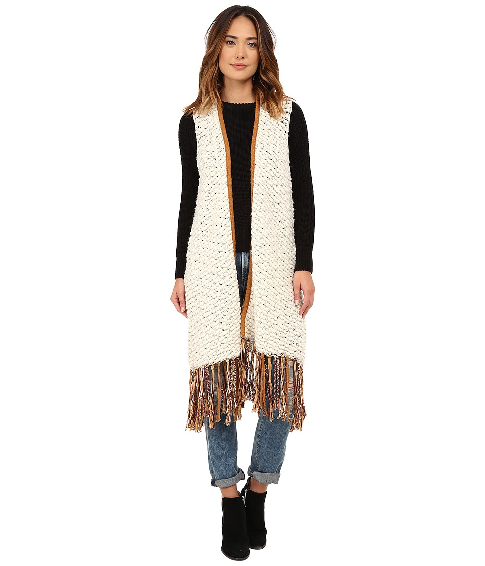 Free People - Madeline Fringe Vest (Multi Combo) Women's Sweater