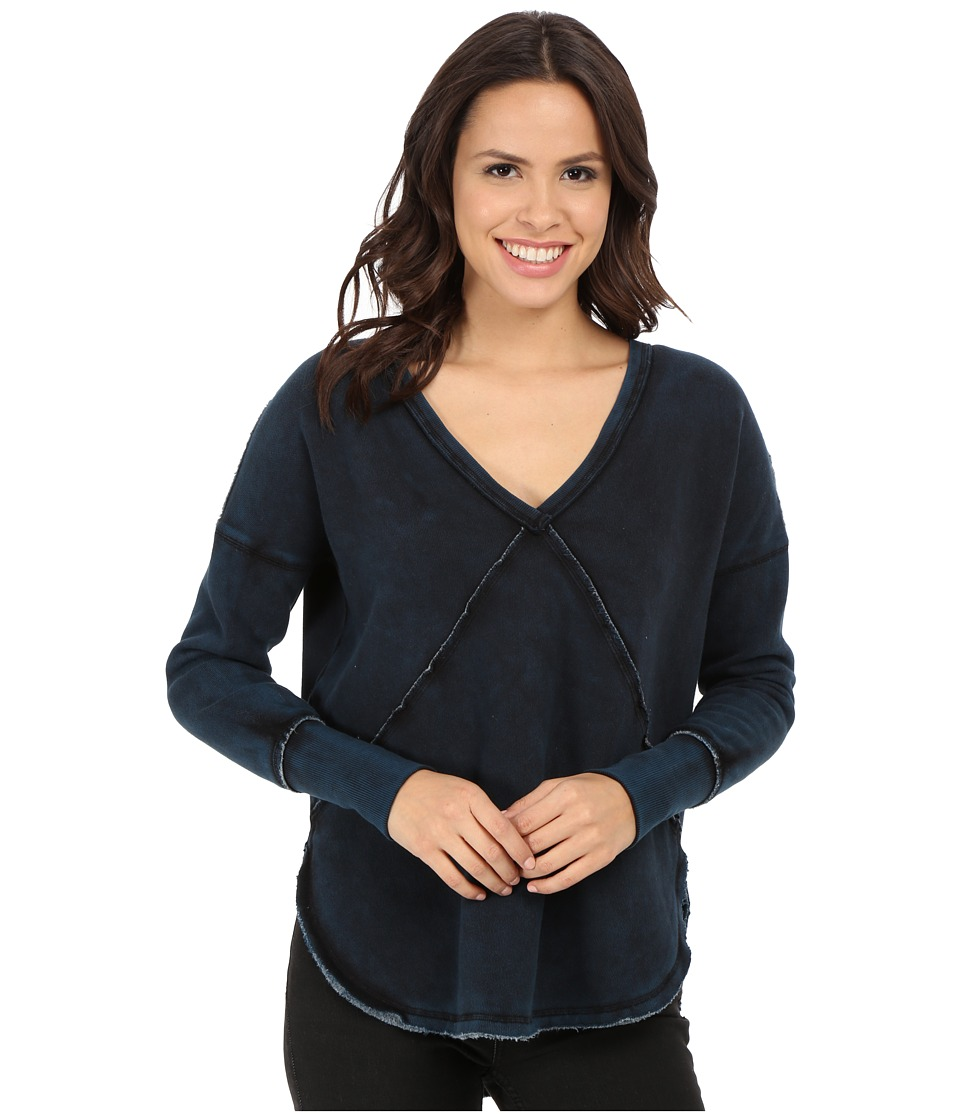 Free People - Westeros Pullover (Indigo) Women's Sweatshirt