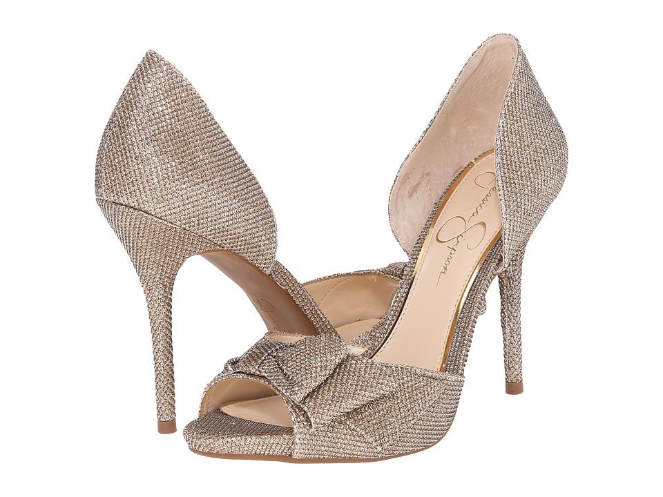 Jessica Simpson - Bealls (Gold) High Heels