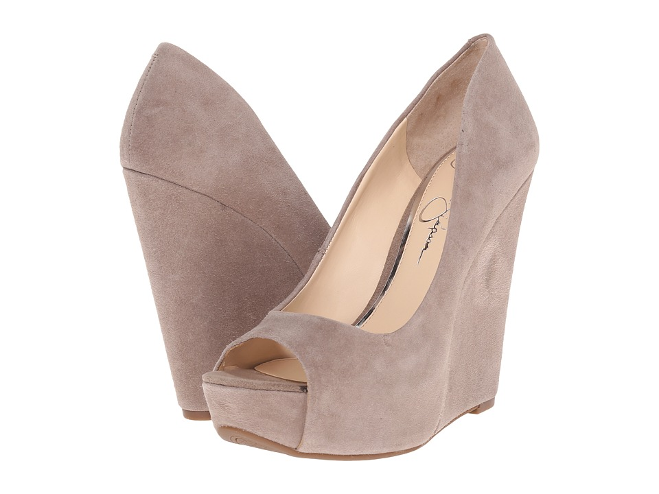 Jessica Simpson - Bethani (Slater Taupe Luxe Kid Suede) Women