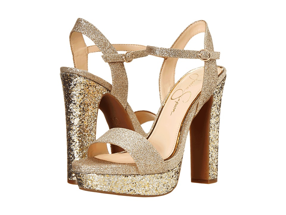 Jessica Simpson Blaney (Silver/Gold) High Heels