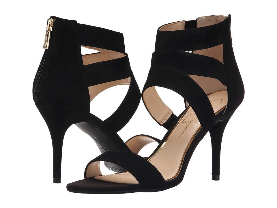 Jessica Simpson - Marlen (Black Luxe Kid Suede) High Heels