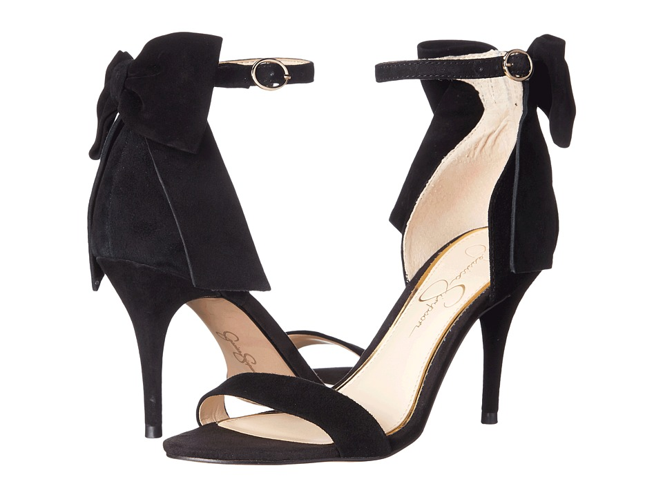 Jessica Simpson - Millee (Black Luxe Kid Suede) High Heels