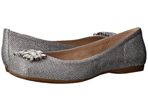 Jessica Simpson - Mollins (Silver Jessica Sparkle Mesh) Women's Flat Shoes