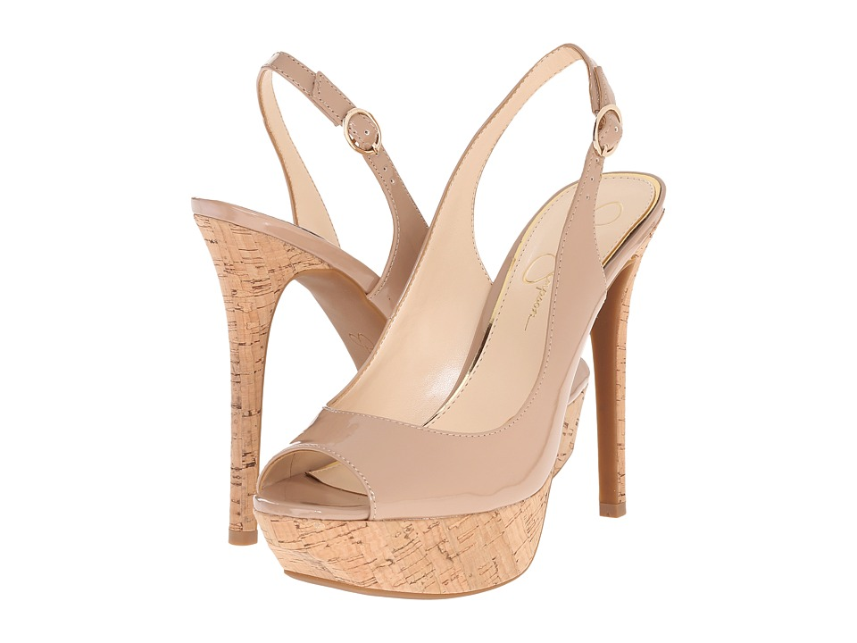 Jessica Simpson - Tacey (Nude Patent) High Heels
