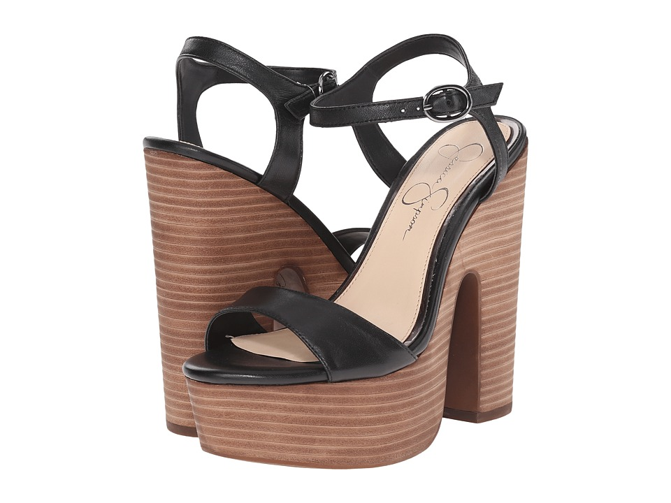 Jessica Simpson Whirl (Black) High Heels
