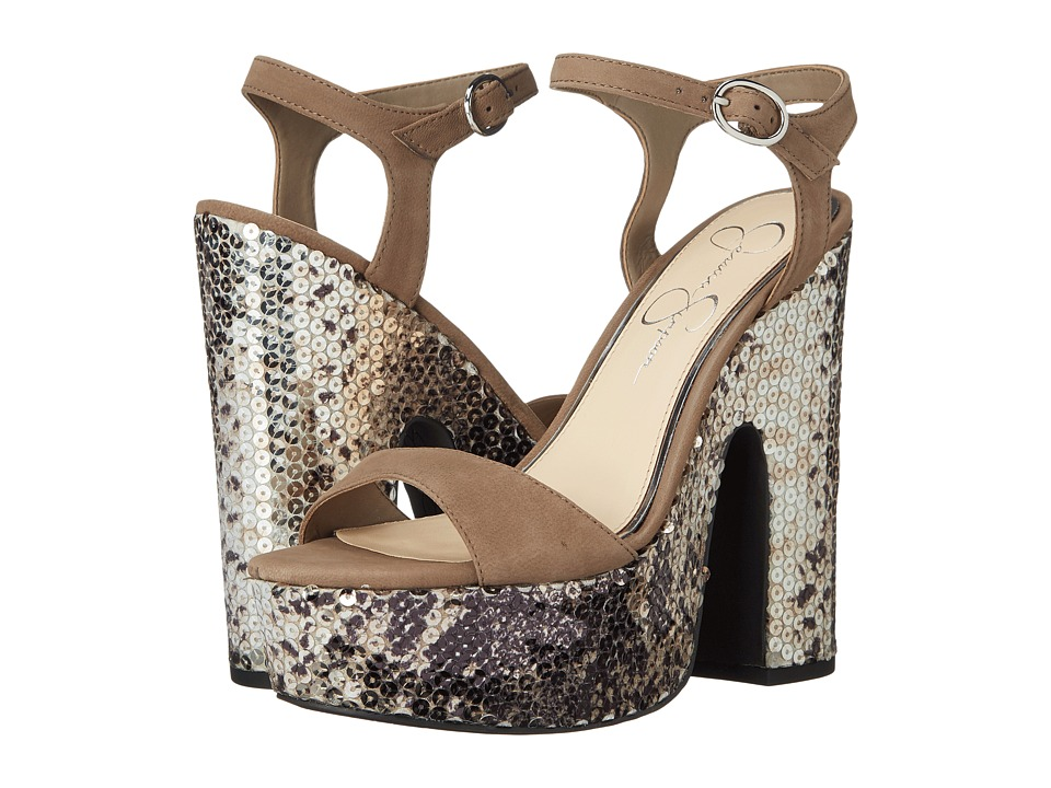 Jessica Simpson - Whirl (Slater Taupe) High Heels