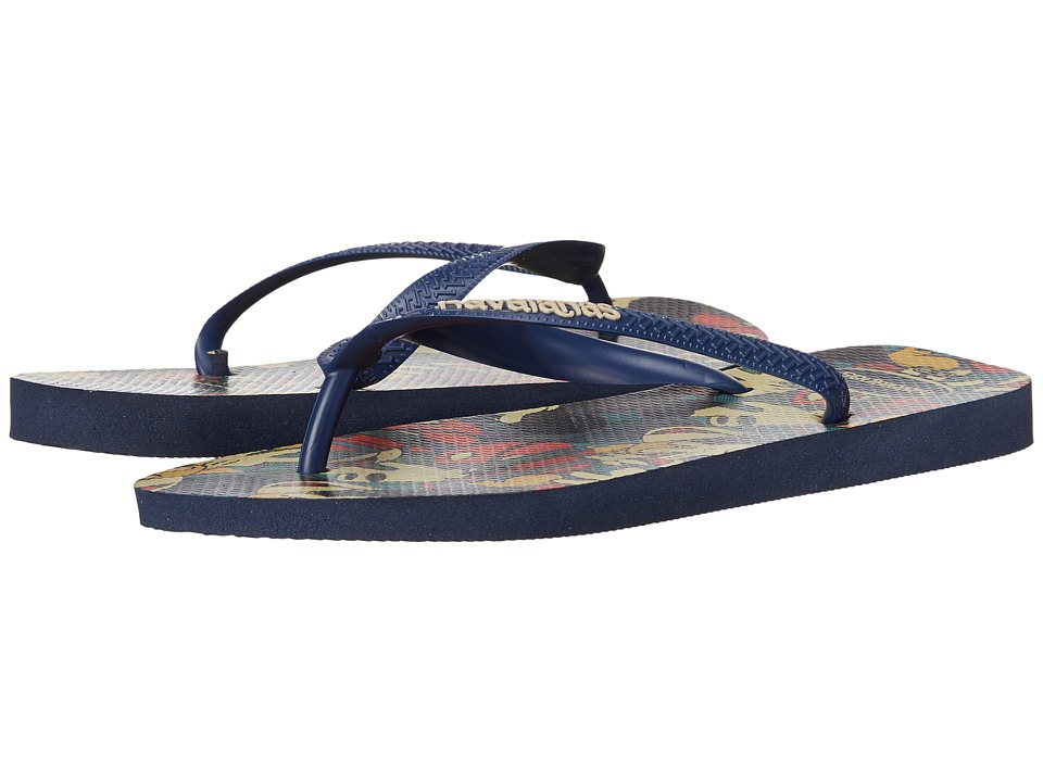 Havaianas - Disney Stylish Flip Flops (Navy Blue) Women's Sandals