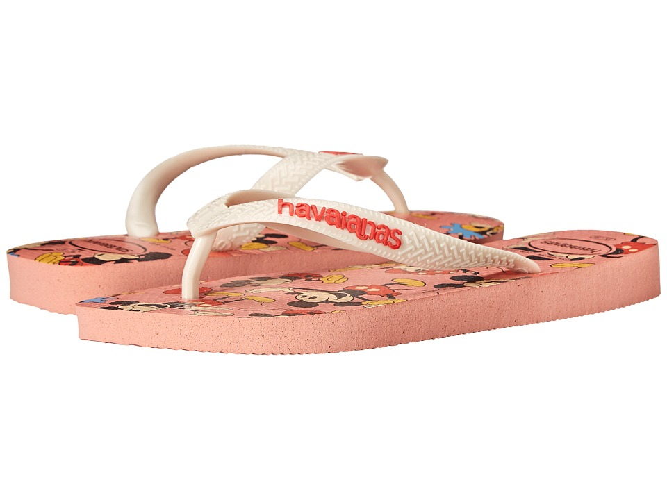 Havaianas - Disney Stylish Flip Flops (Light Pink) Women's Sandals