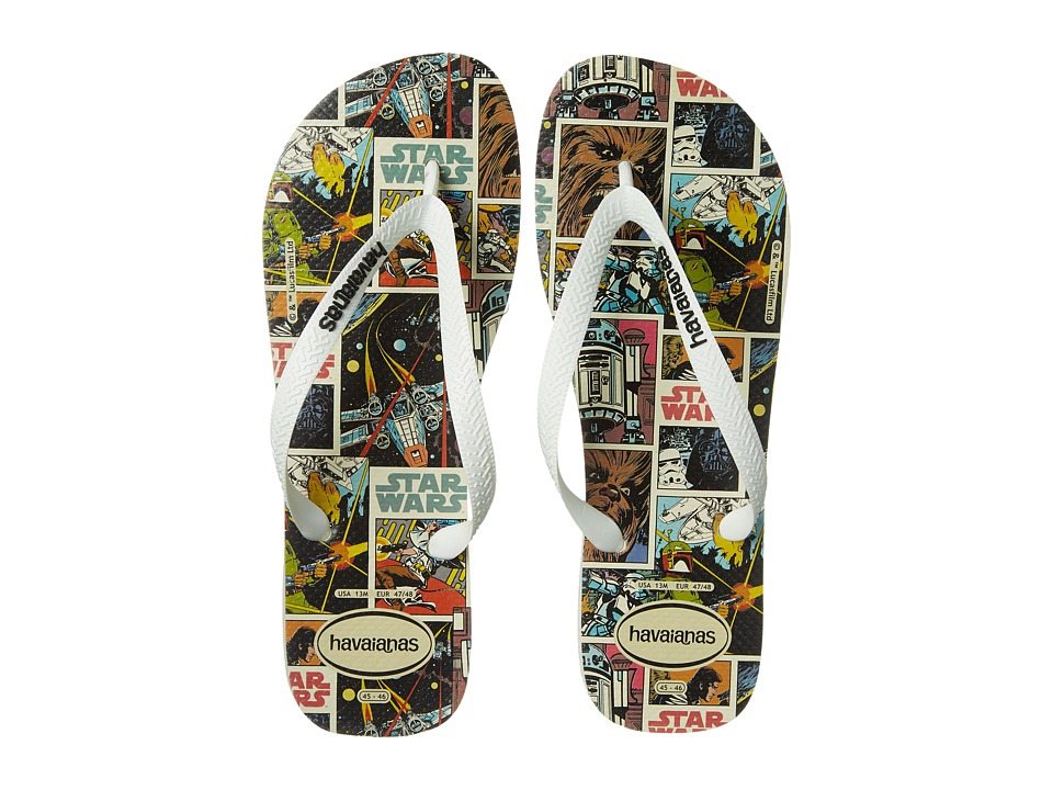 Havaianas - Star Wars Flip Flops (White) Men's Sandals