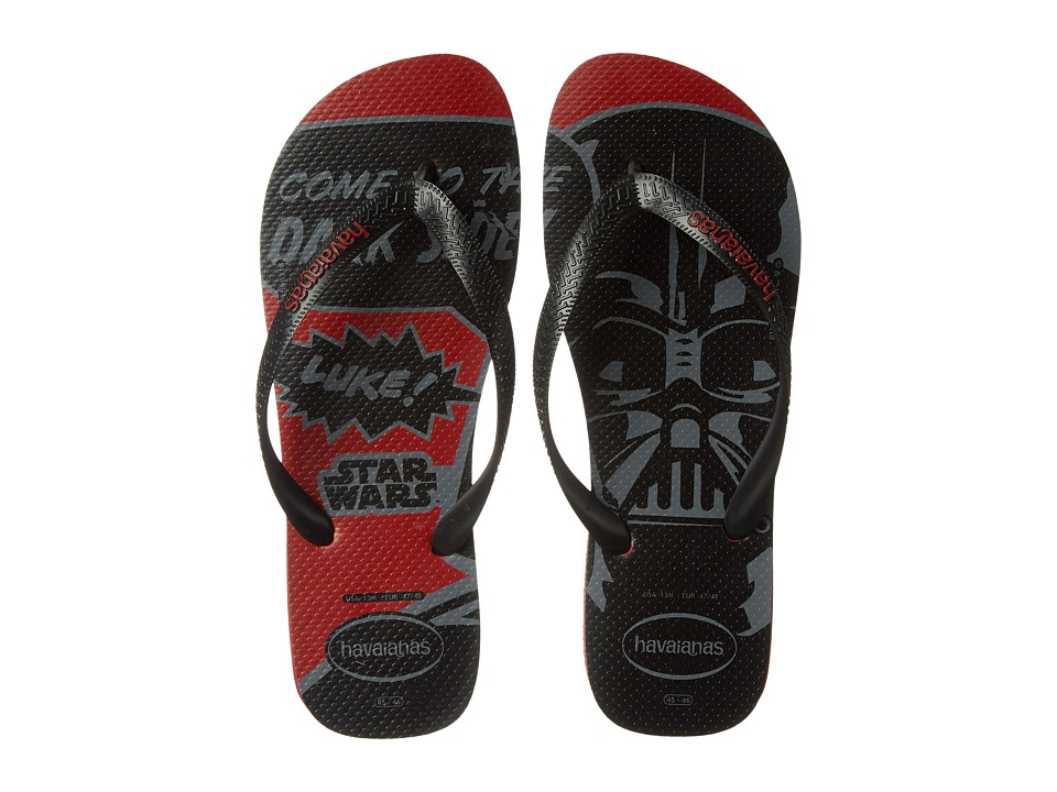 Havaianas - Star Wars Flip Flops (Red) Men's Sandals